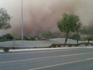 Arizona Dust Storms