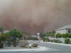 Dust Storms in Phoenix