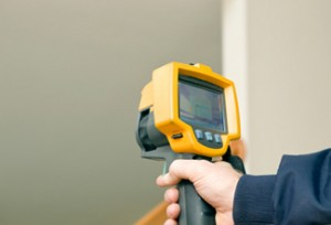 Thermal Imaging Tool used in Home Energy Audit
